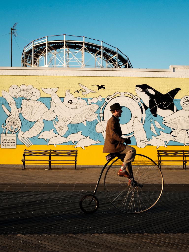 Eric Hsu NYC Coney Island New York Street Photography