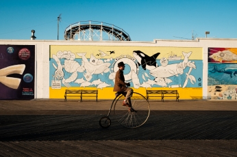 Eric Hsu NYC Coney Island New York Street Photography