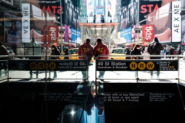 Eric Hsu NYC New York City Street Photography Times Square