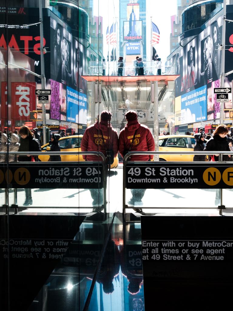 Eric Hsu NYC New York City Street Photography Times Square